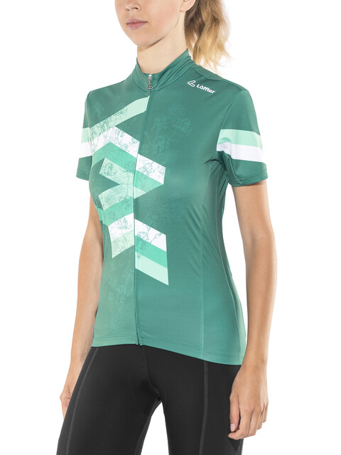 Löffler Flow FZ Bike Trikot Damen emerald